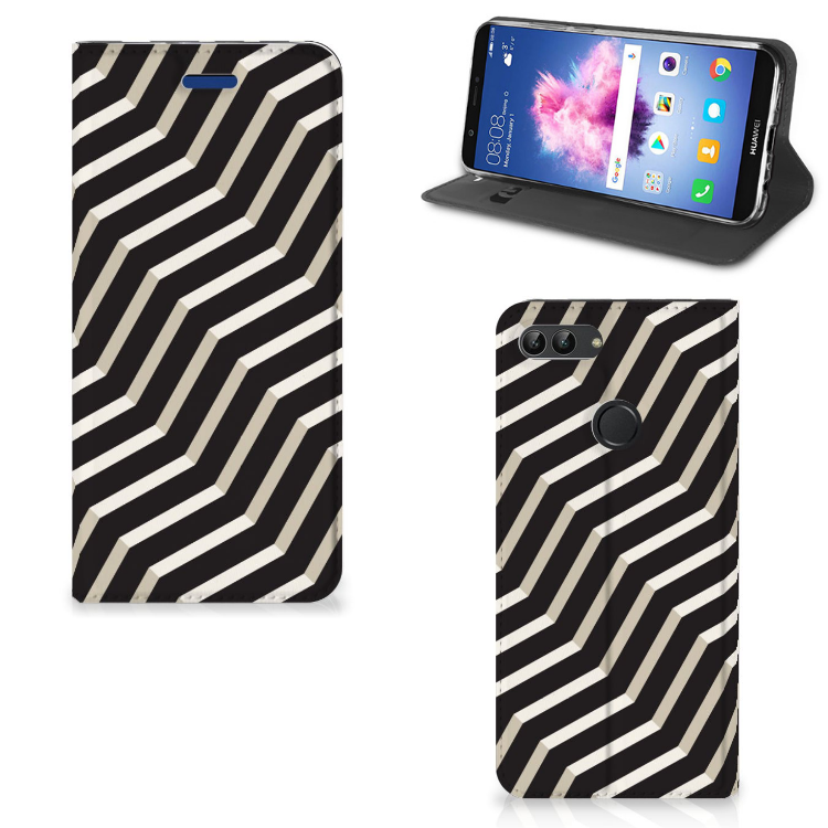 Huawei P Smart Stand Case Illusion