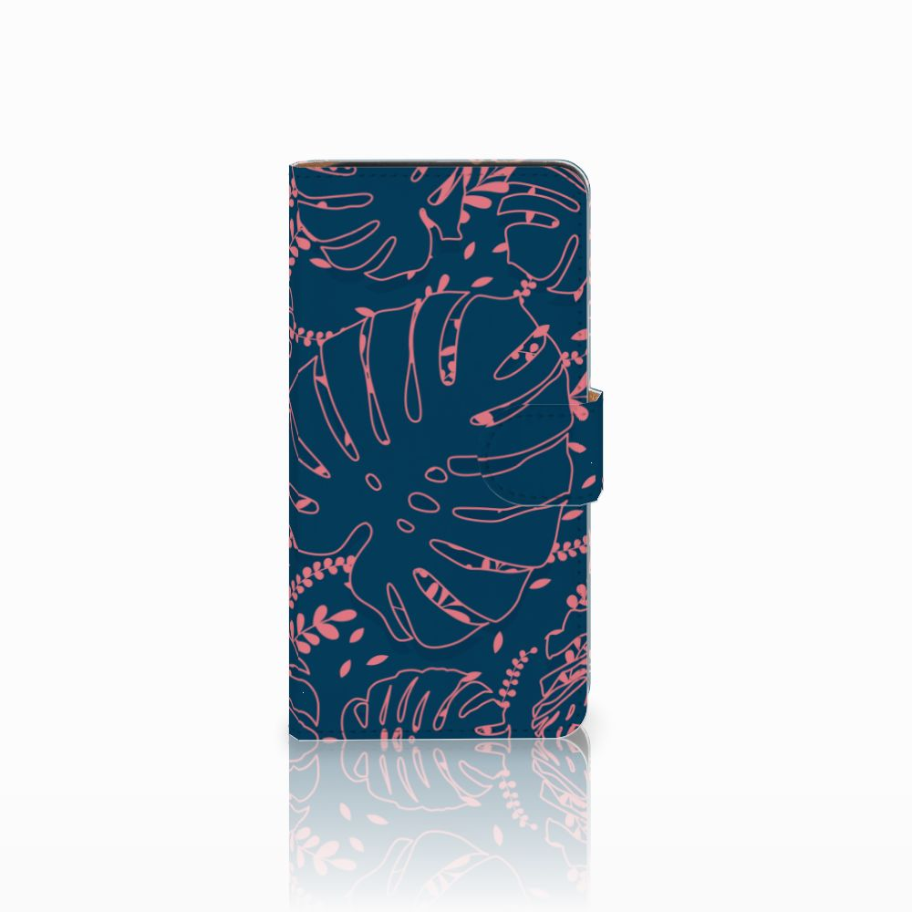 Wiko Lenny 3 Boekhoesje Design Palm Leaves