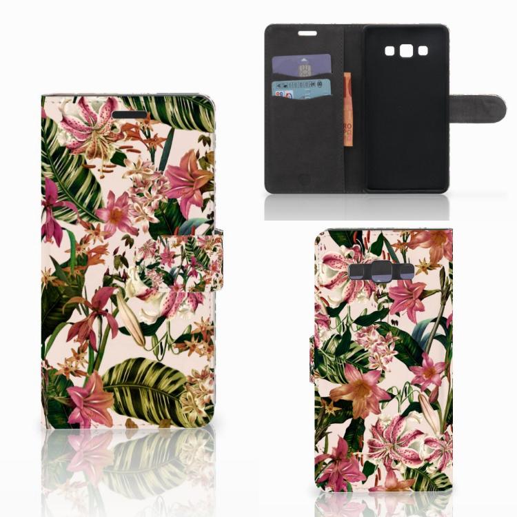 Samsung Galaxy A7 2015 Hoesje Flowers