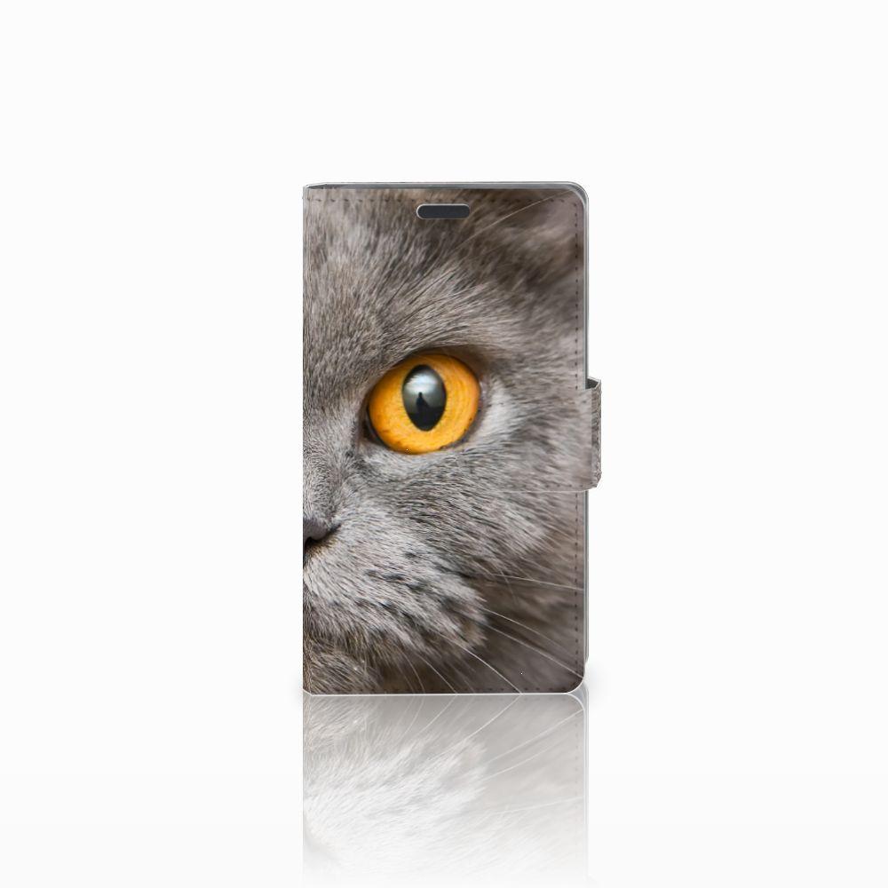 Nokia Lumia 625 Leuk Hoesje Britse Kat