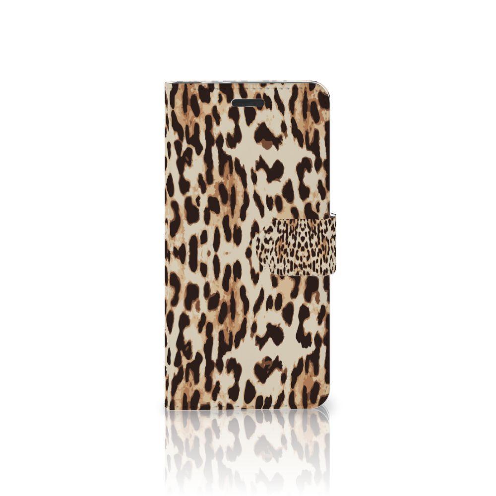 Motorola Moto Z Uniek Boekhoesje Leopard