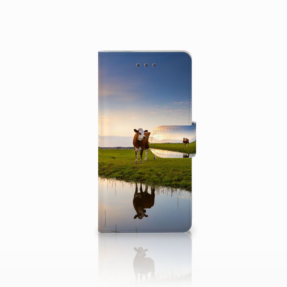 Huawei Ascend P8 Boekhoesje Design Koe