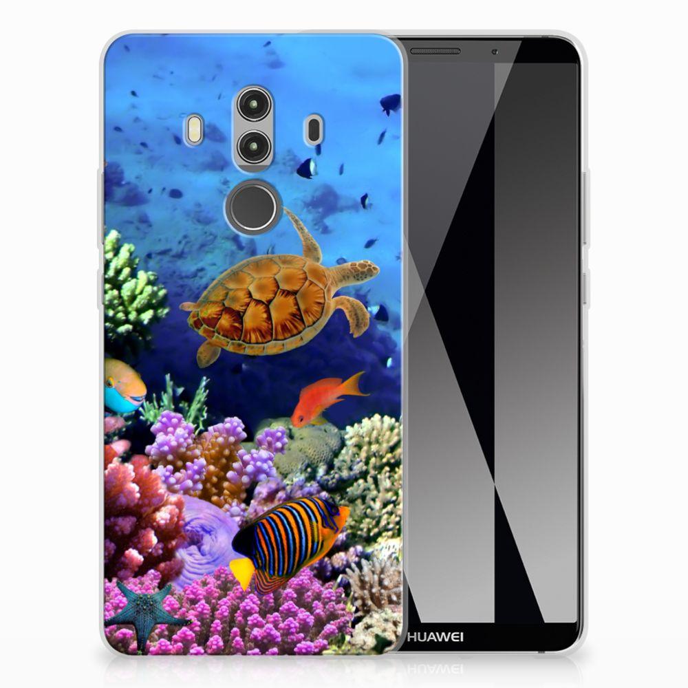 Huawei Mate 10 Pro TPU Hoesje Design Vissen
