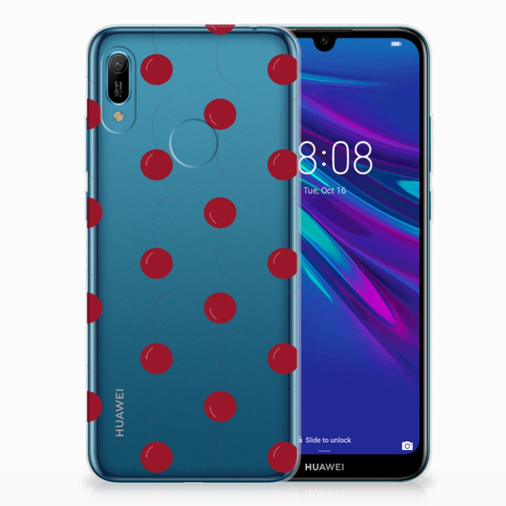 Huawei Y6 2019 | Y6 Pro 2019 Siliconen Case Cherries