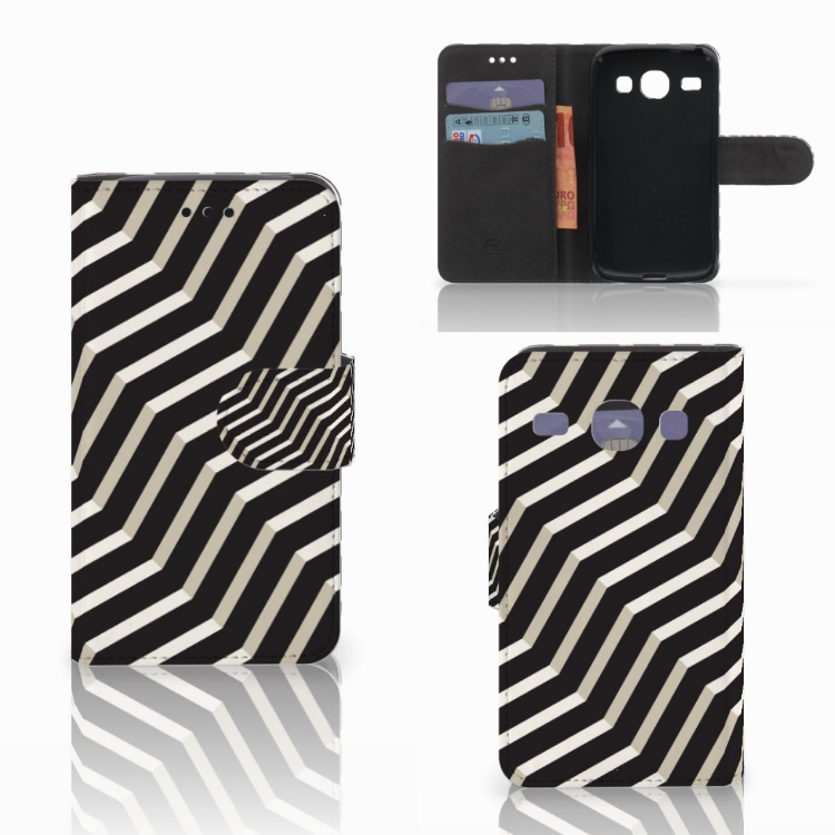 Samsung Galaxy Core i8260 Bookcase Illusion