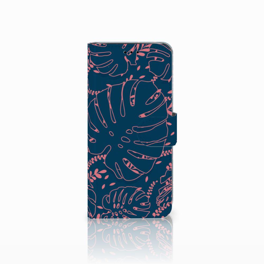 Samsung Galaxy A6 2018 Boekhoesje Design Palm Leaves