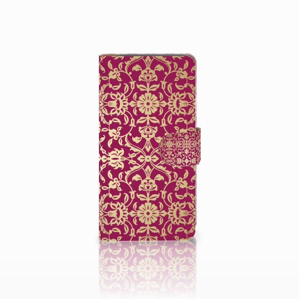Google Pixel Boekhoesje Design Barok Pink