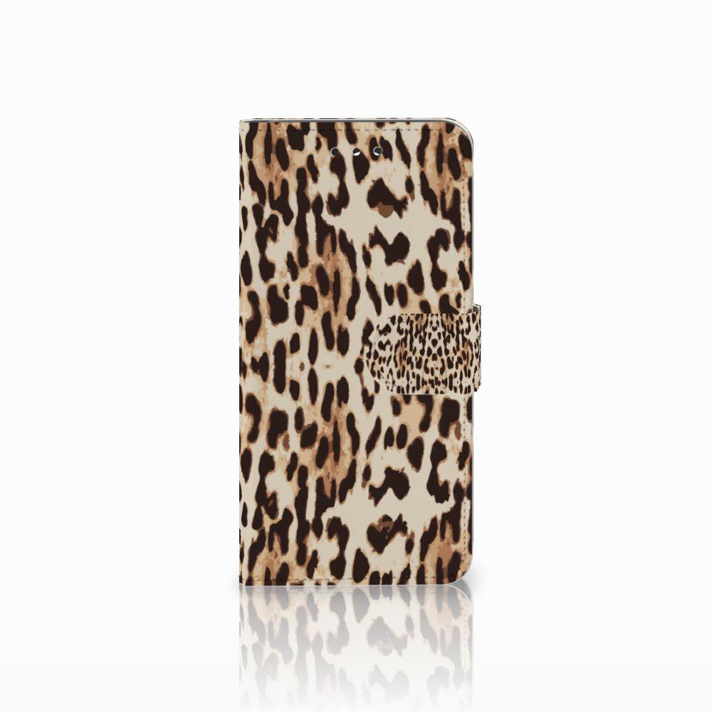 LG G7 Thinq Uniek Boekhoesje Leopard