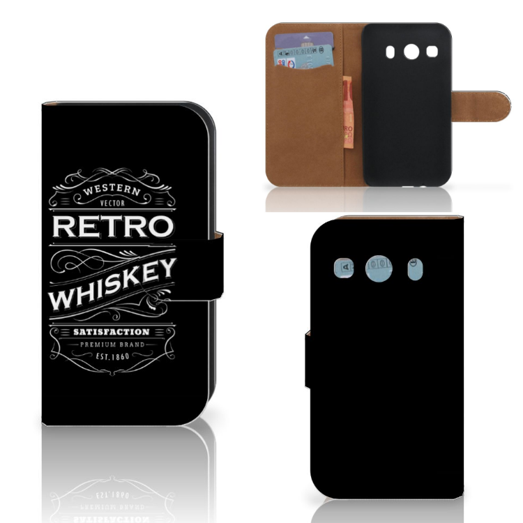 Samsung Galaxy Ace 4 4G (G357-FZ) Book Cover Whiskey
