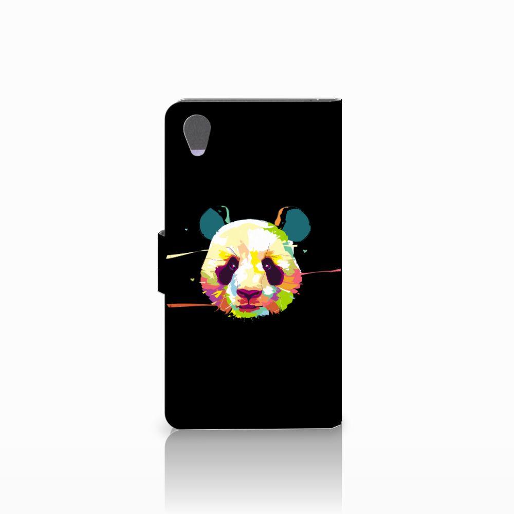 Sony Xperia Z1 Leuke Hoesje Panda Color