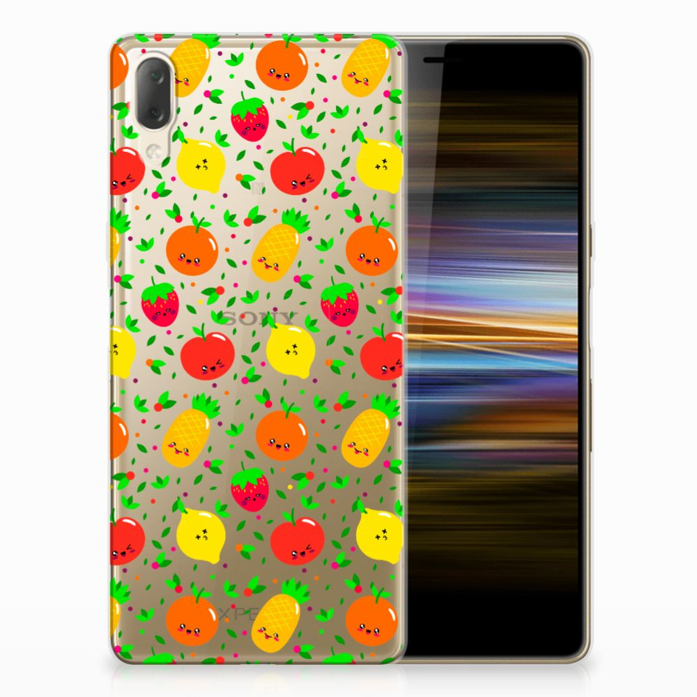 Sony Xperia L3 Siliconen Case Fruits