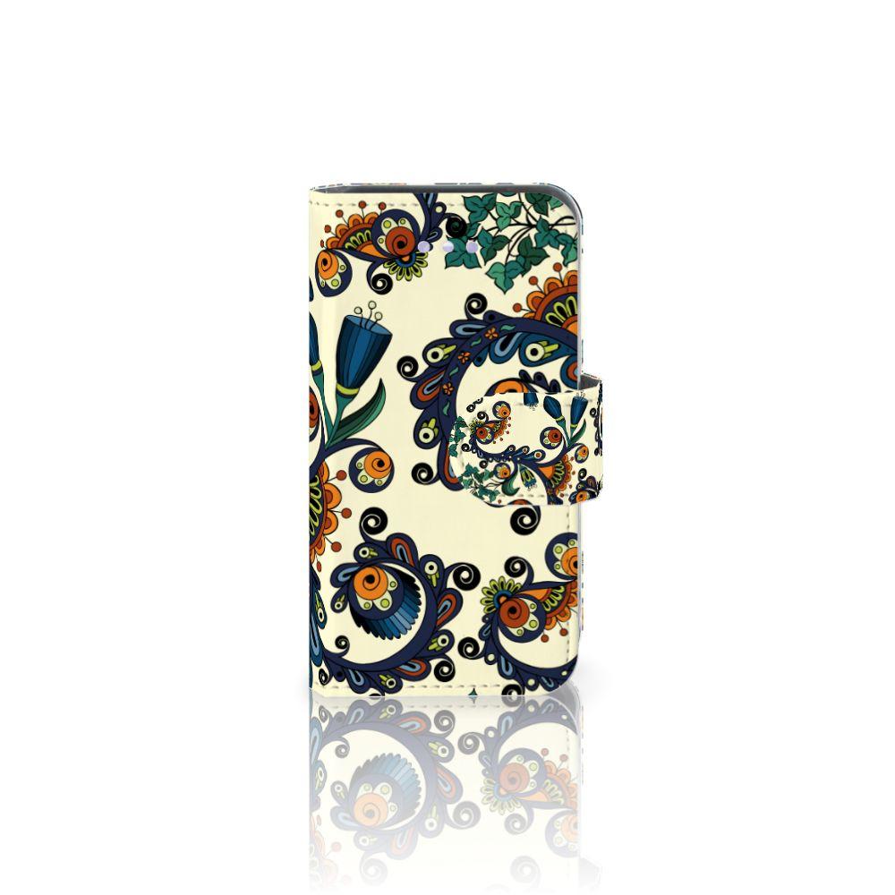 Wallet Case Apple iPhone 4 | 4S Barok Flower