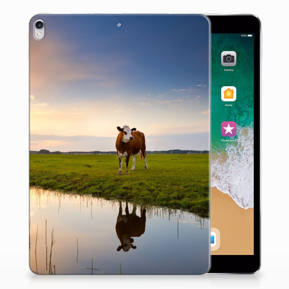 Apple iPad Pro 10.5 Tablethoesje Design Koe