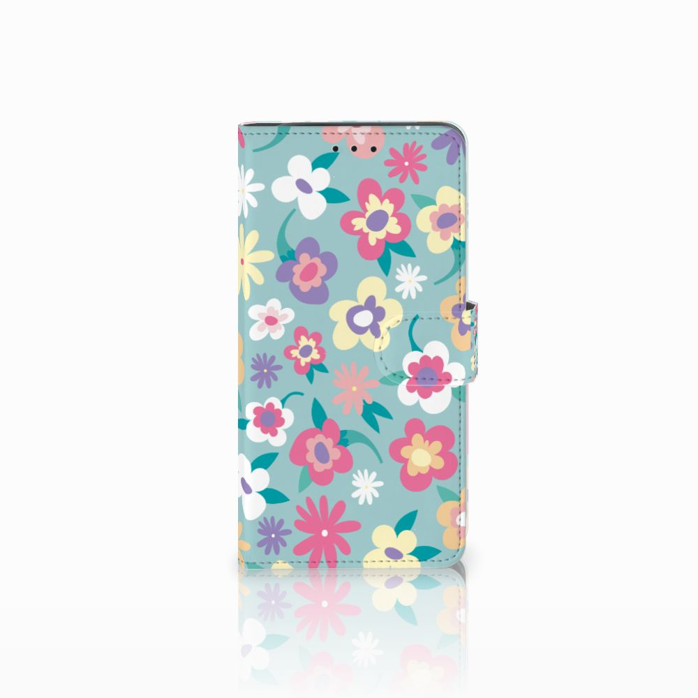 Samsung Galaxy J6 Plus (2018) Boekhoesje Design Flower Power