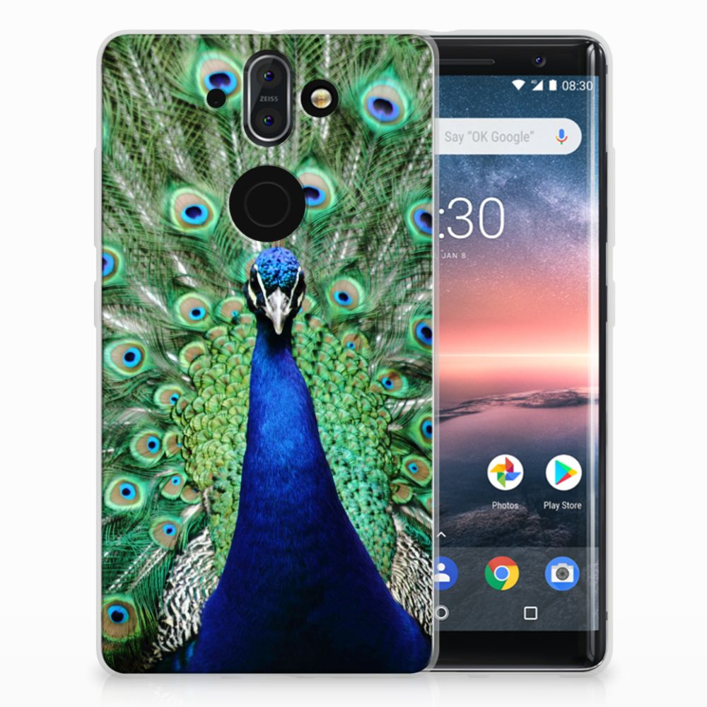 Nokia 9 | 8 Sirocco TPU Hoesje Pauw