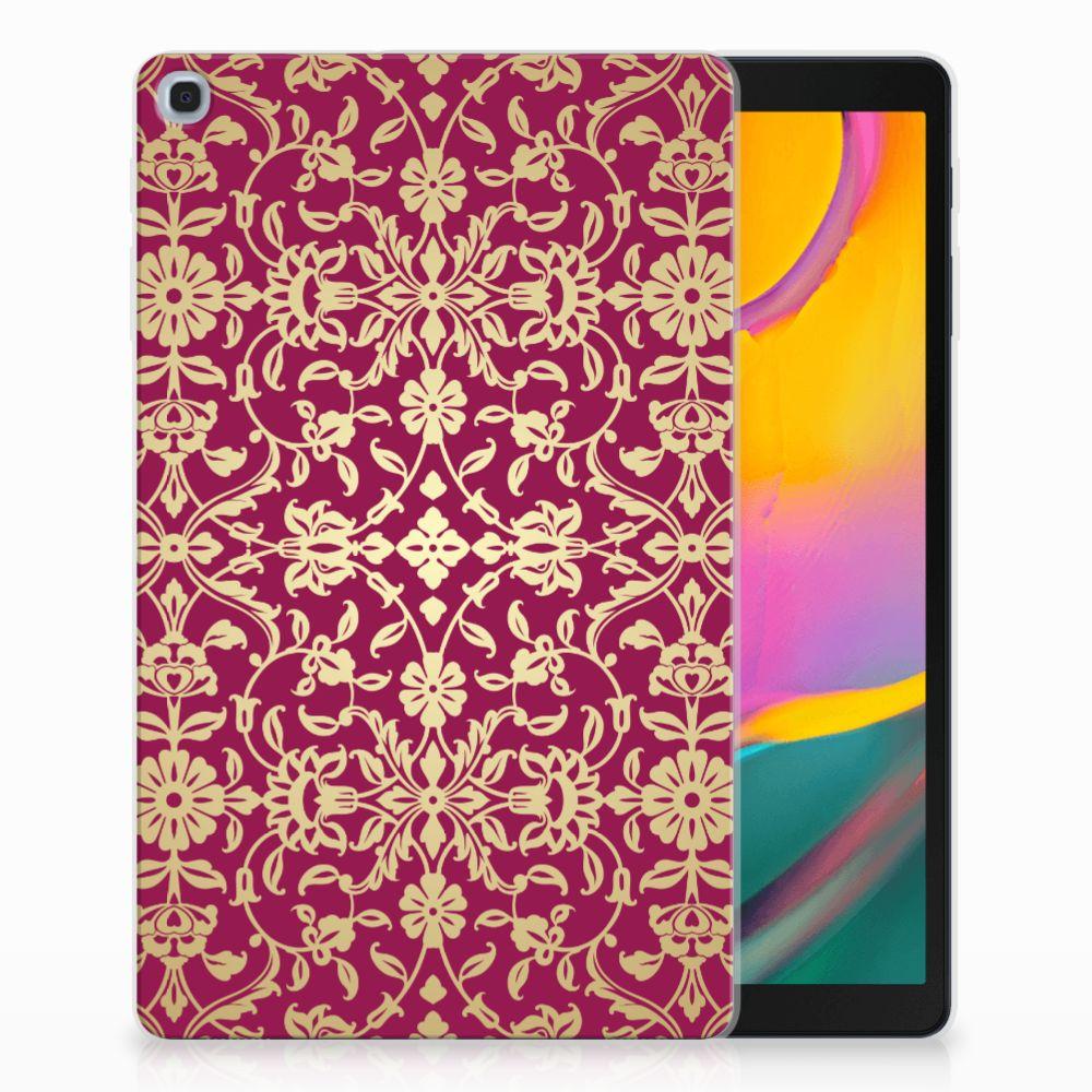 Samsung Galaxy Tab A 10.1 (2019) Tablethoesje Design Barok Pink