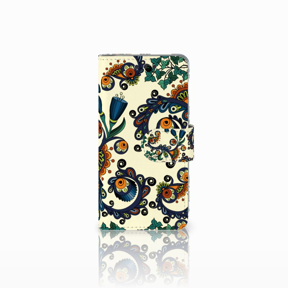 Wallet Case Samsung Galaxy A3 2016 Barok Flower