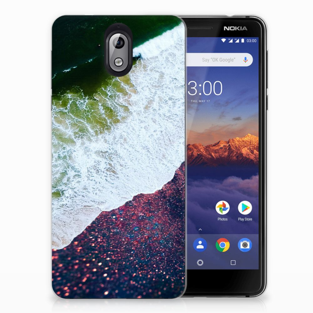 Nokia 3.1 (2018) TPU Hoesje Sea in Space