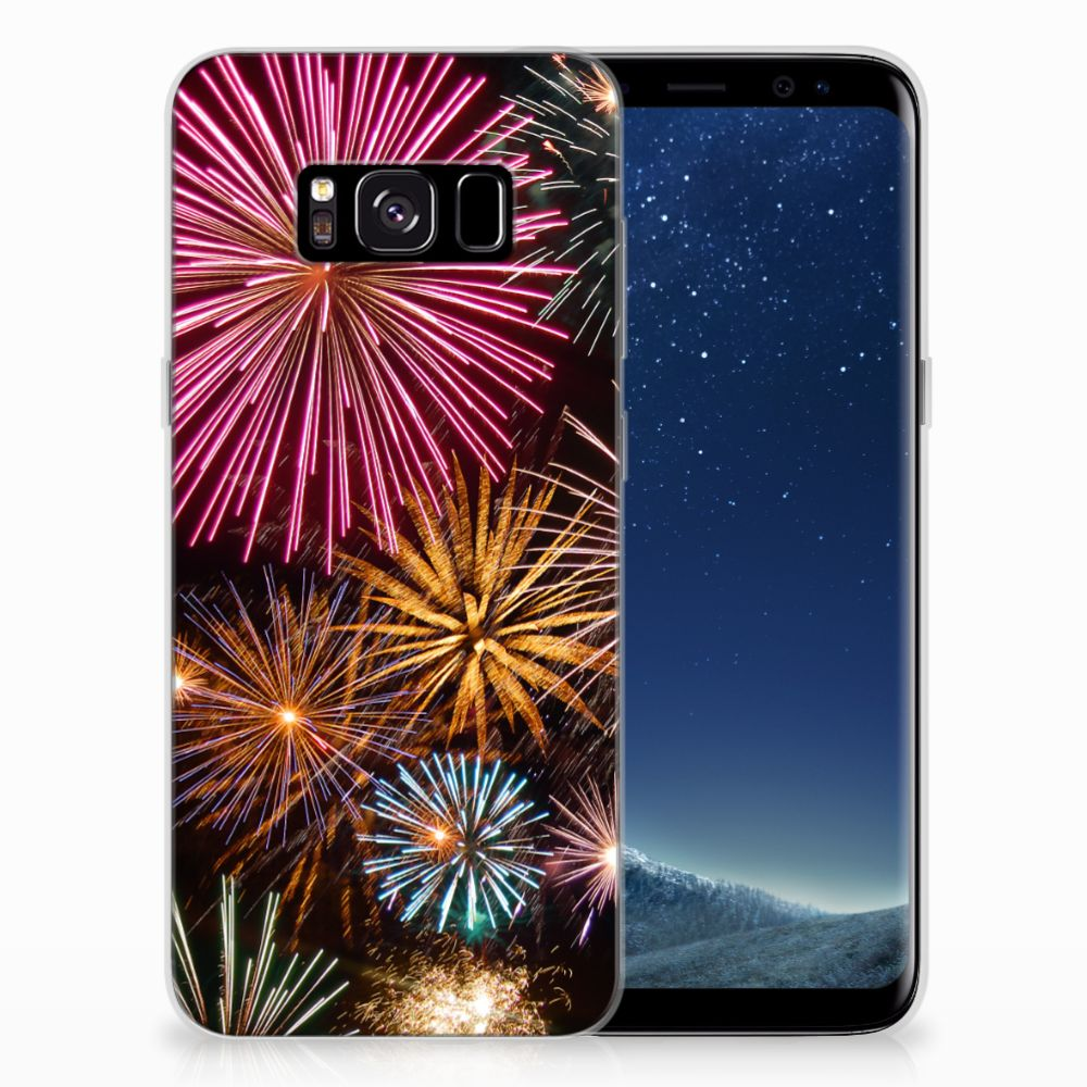 Samsung Galaxy S8 Silicone Back Cover Vuurwerk