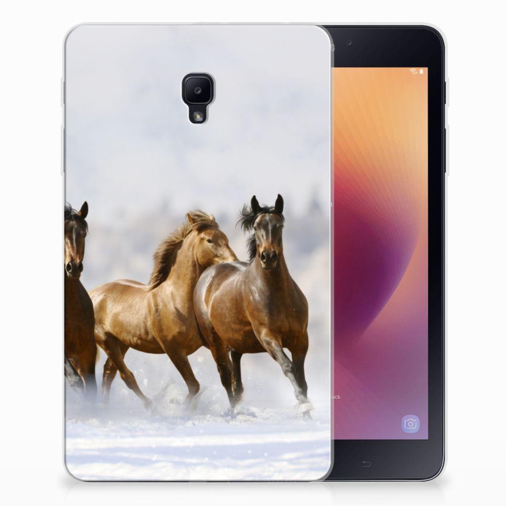 Samsung Galaxy Tab A 8.0 (2017) Uniek Tablethoesje Paarden