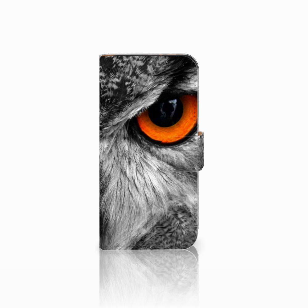 HTC One Mini 2 Boekhoesje Design Uil