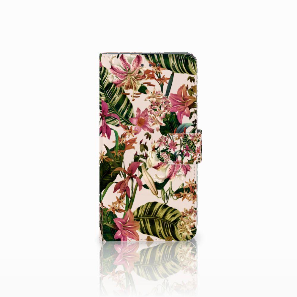 Huawei Mate 8 Uniek Boekhoesje Flowers