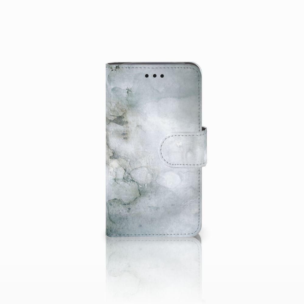 Hoesje Samsung Galaxy Core i8260 Painting Grey