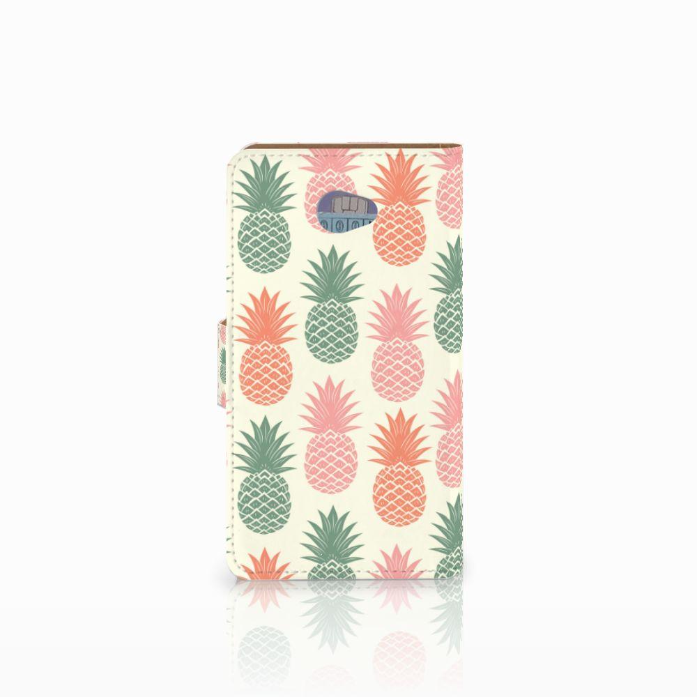 HTC Desire 601 Book Cover Ananas