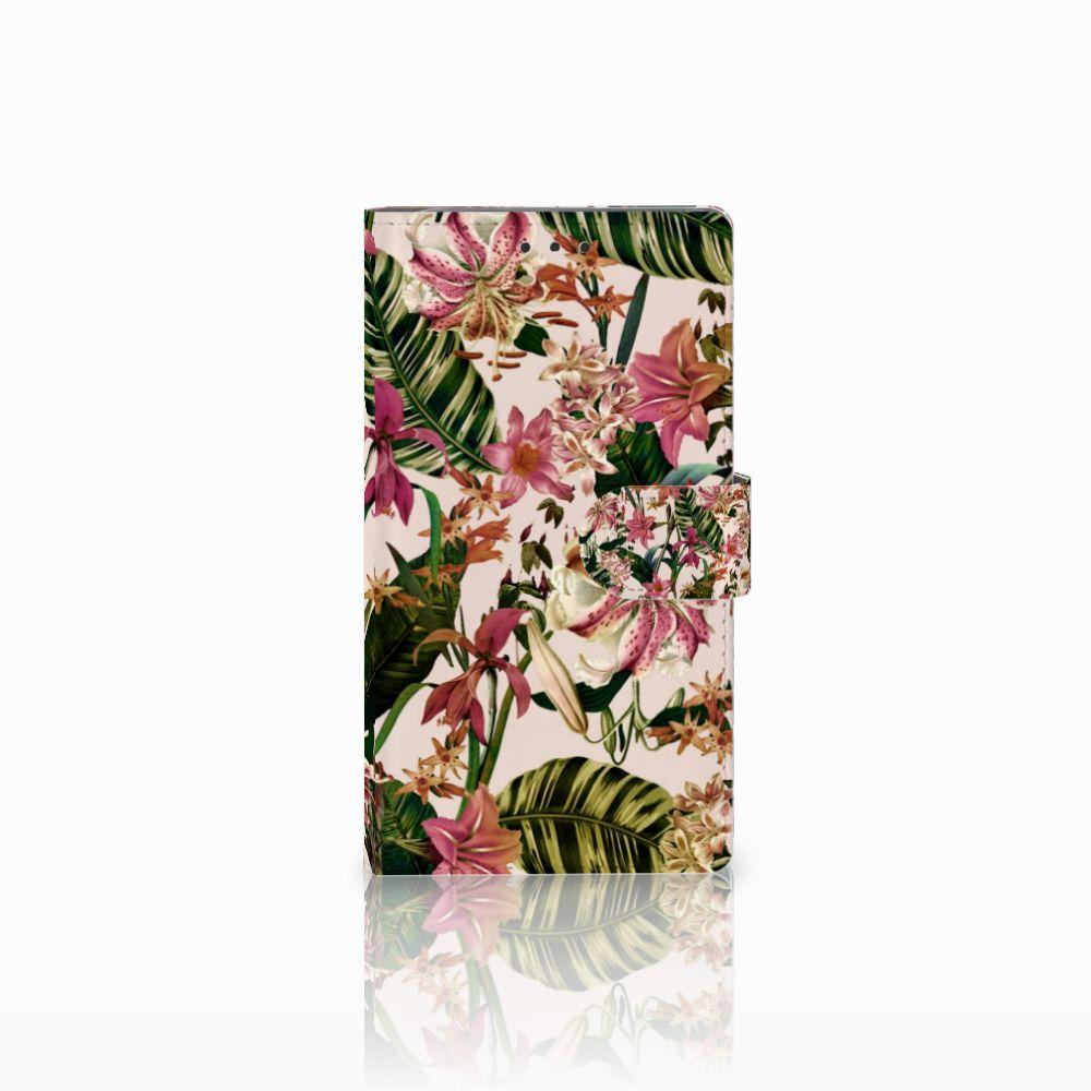 Samsung Galaxy Note 3 Uniek Boekhoesje Flowers