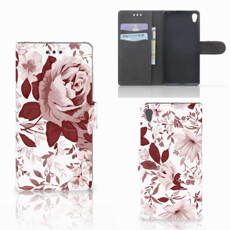 Hoesje Sony Xperia E5 Watercolor Flowers