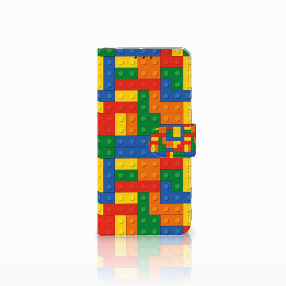 HTC U11 Plus Telefoon Hoesje Blokken