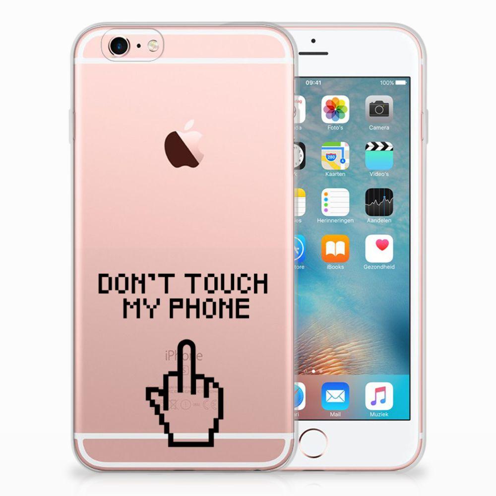 Apple iPhone 6 | 6s Uniek TPU Hoesje Finger DTMP