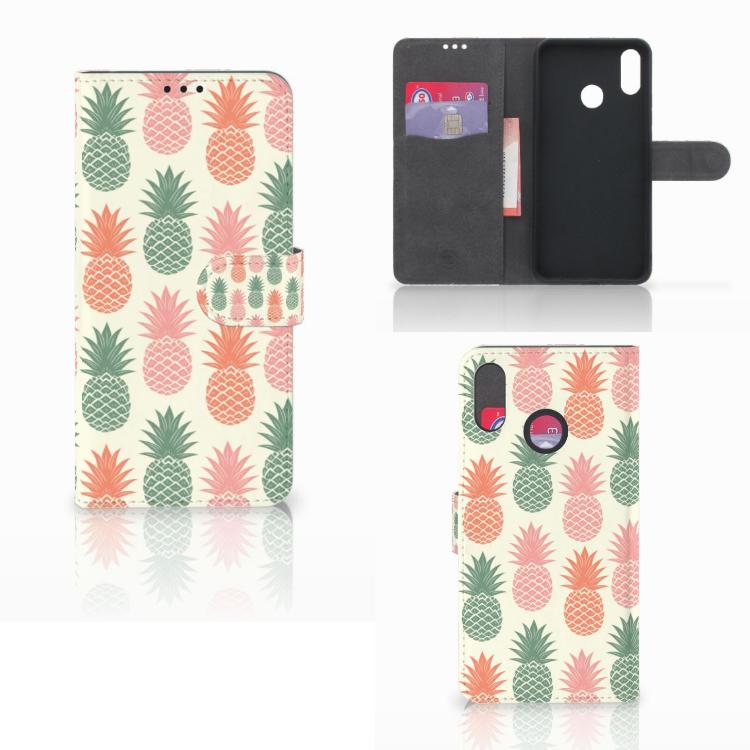 Huawei P Smart Plus Book Cover Ananas