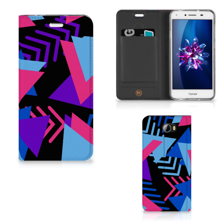 Huawei Y5 2 | Y6 Compact Stand Case Funky Triangle
