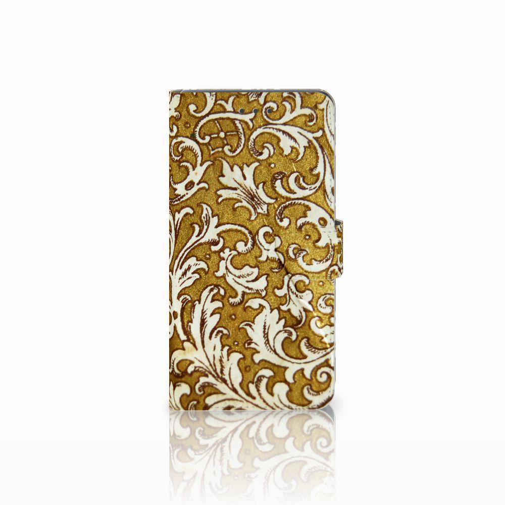 Huawei Mate 8 Boekhoesje Design Barok Goud
