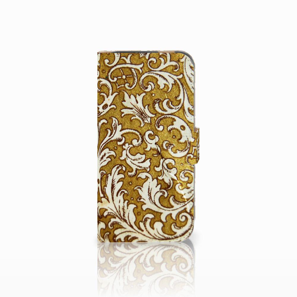 HTC One M8 Boekhoesje Design Barok Goud