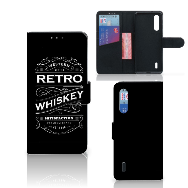 Xiaomi Mi 9 Lite Book Cover Whiskey