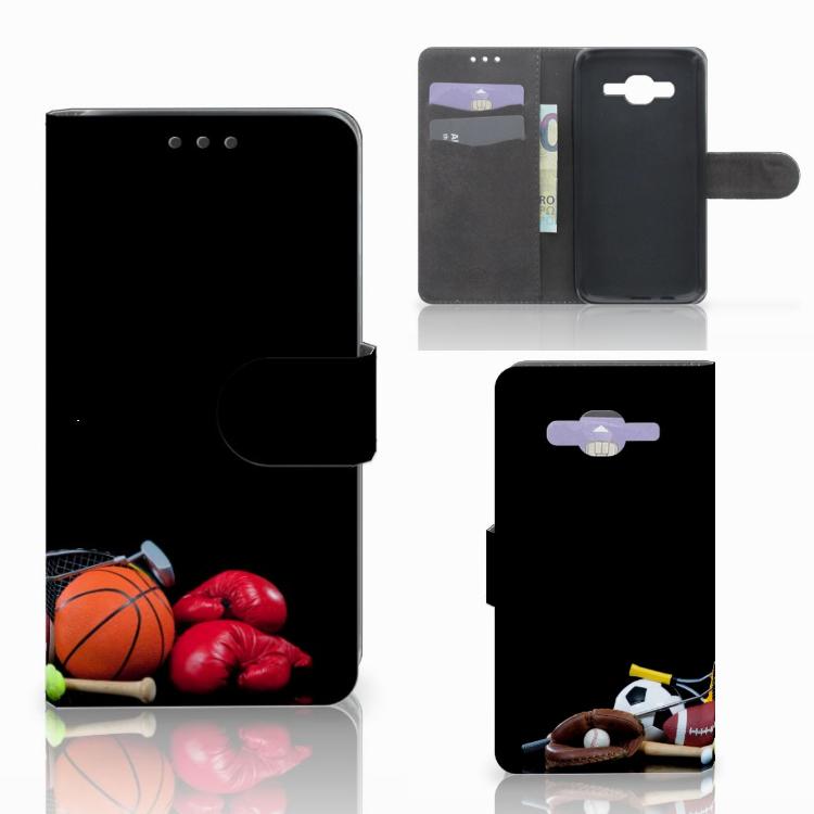 Samsung Galaxy J5 (2015) Wallet Case met Pasjes Sports