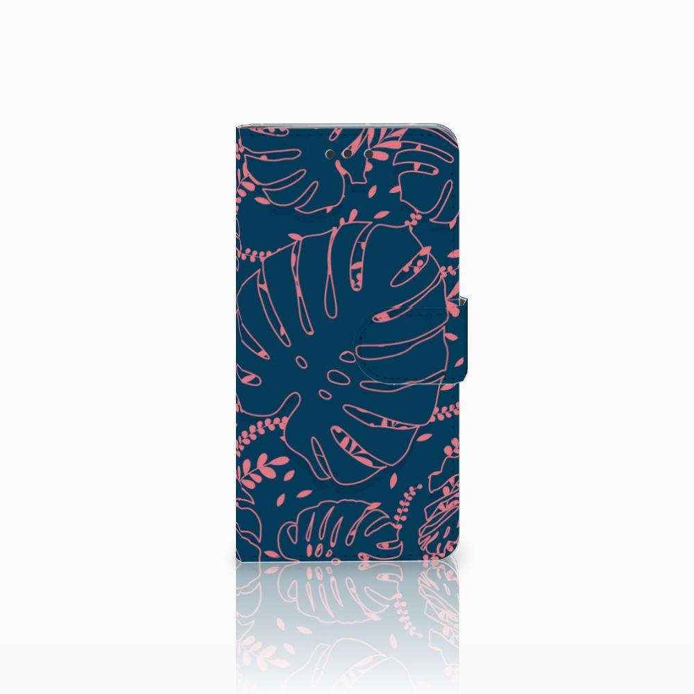 HTC U Play Boekhoesje Design Palm Leaves