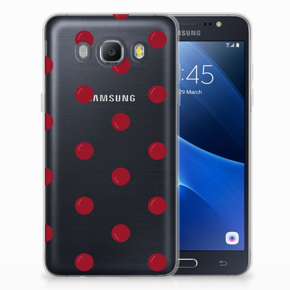Samsung Galaxy J5 2016 Siliconen Case Cherries