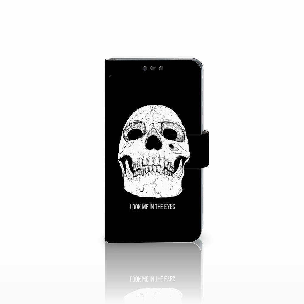 Nokia 3 Uniek Boekhoesje Skull Eyes