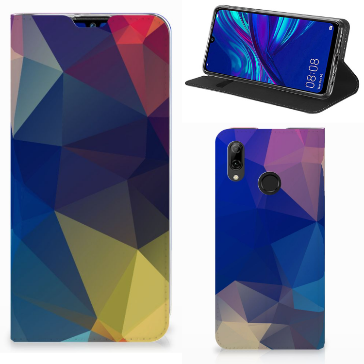 Huawei P Smart (2019) Stand Case Polygon Dark