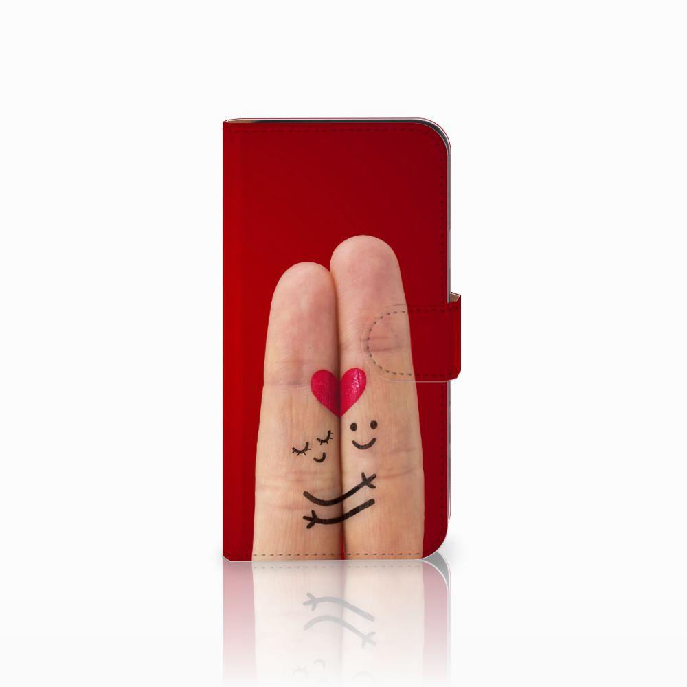 Samsung Galaxy E5 Uniek Boekhoesje Liefde