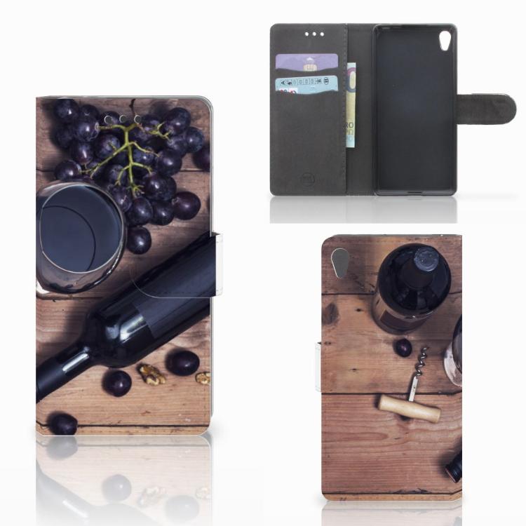 Sony Xperia E5 Book Cover Wijn