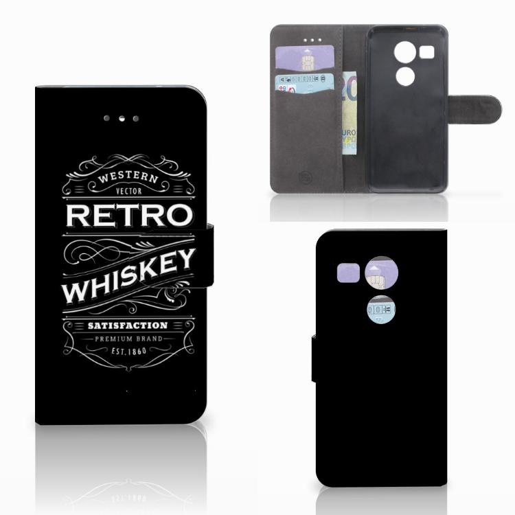 LG Nexus 5X Book Cover Whiskey