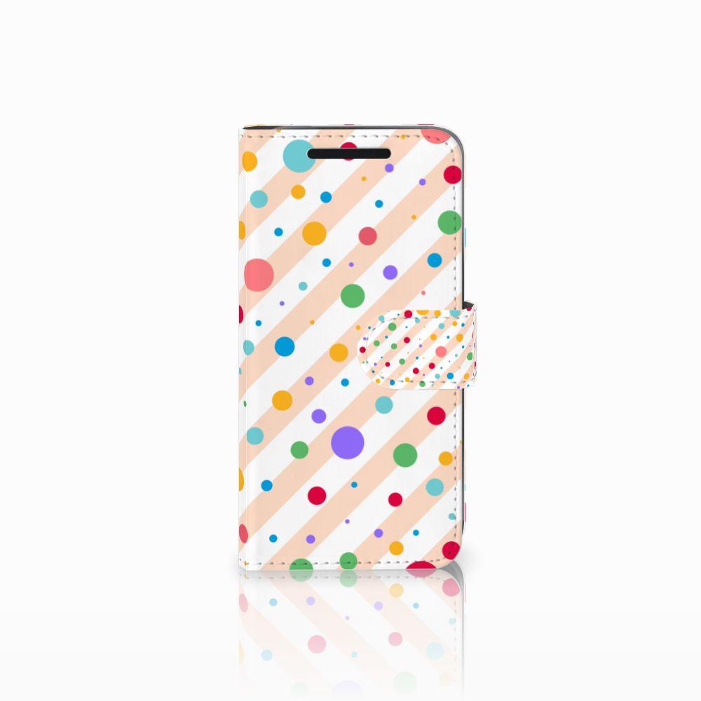 HTC One M9 Boekhoesje Design Dots