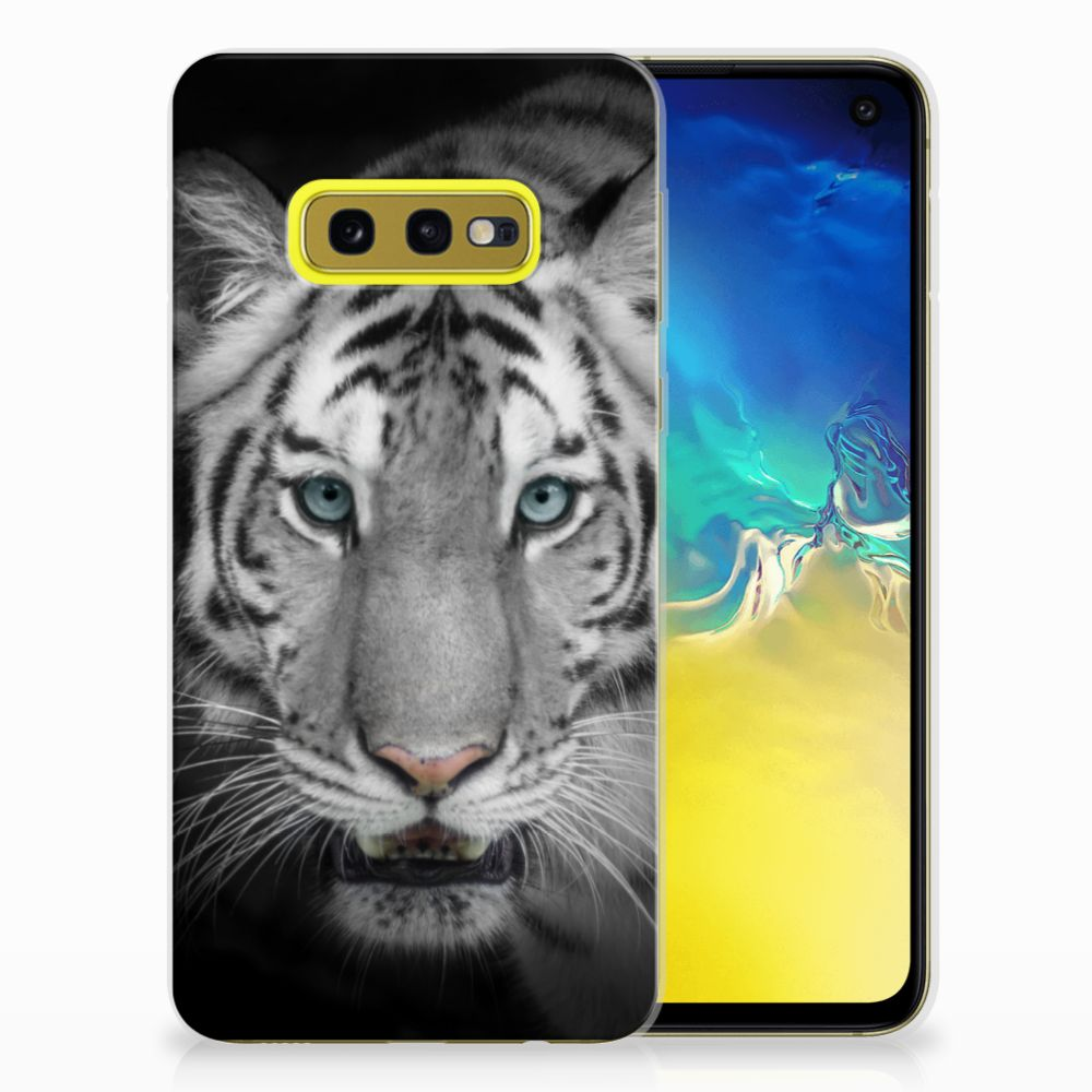 Samsung Galaxy S10e TPU Hoesje Tijger
