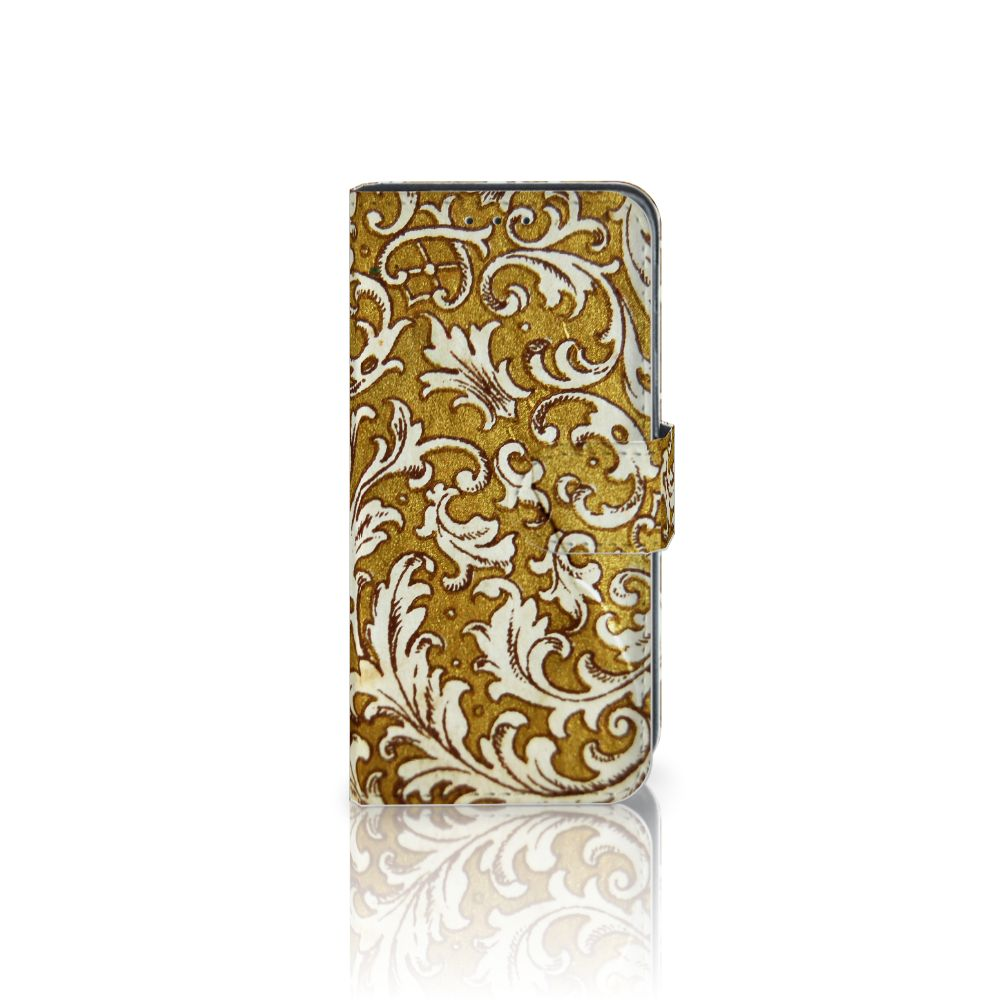 Samsung Galaxy J3 (2018) Boekhoesje Design Barok Goud