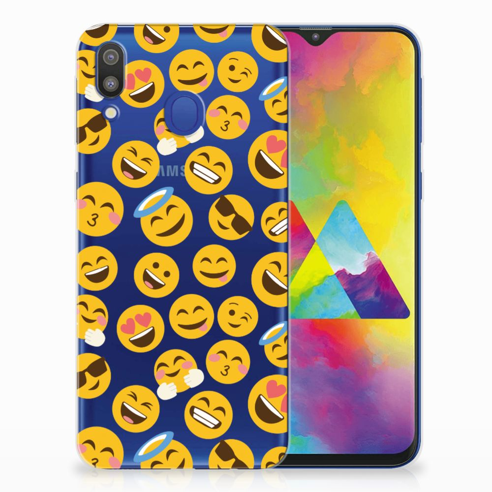 Samsung Galaxy M20 (Power) TPU bumper Emoji