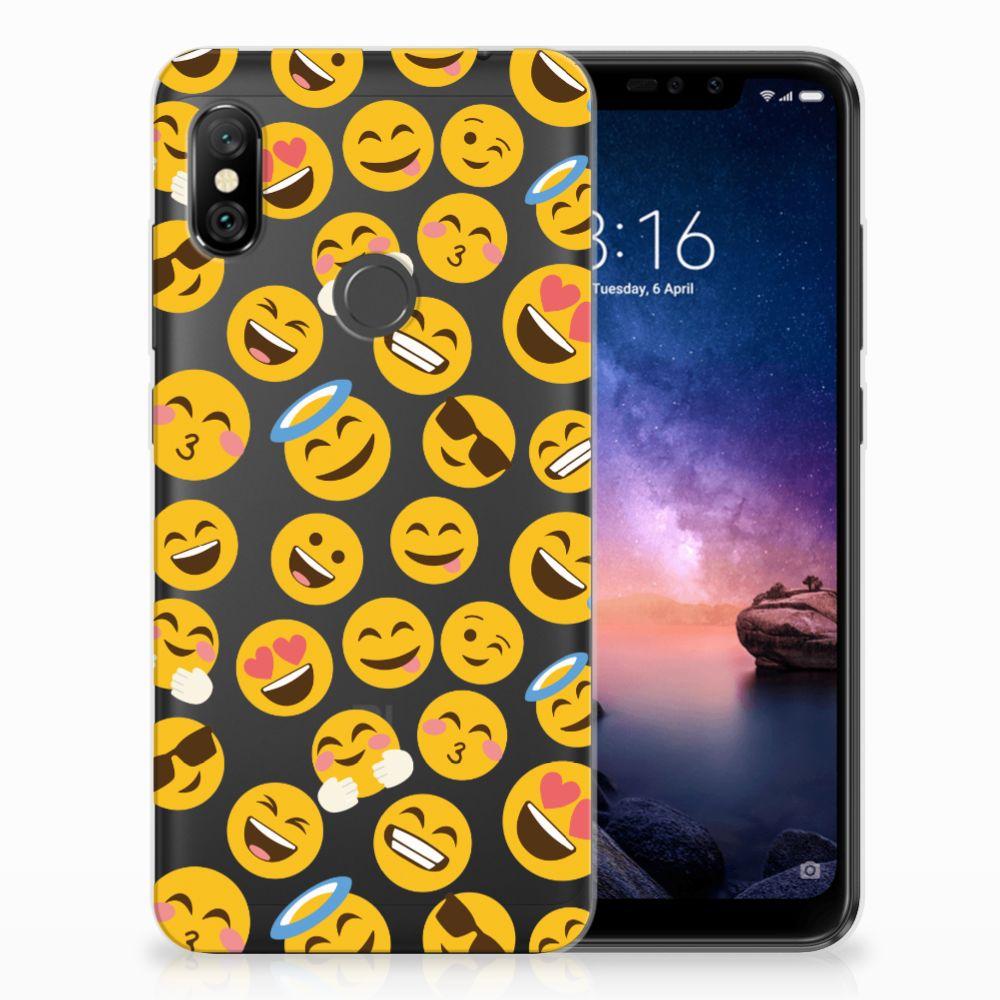 Xiaomi Redmi Note 6 Pro TPU Hoesje Design Emoji